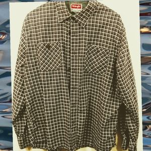 Men's Long Sleeved Button Up